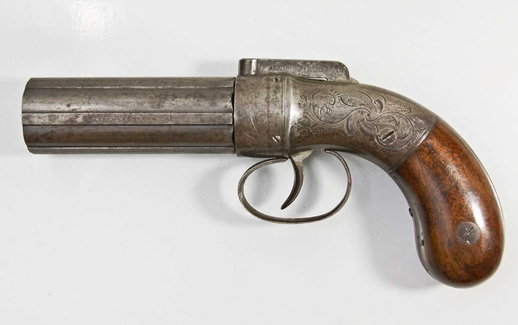 Allen and Thurber Pepperbox Pistol