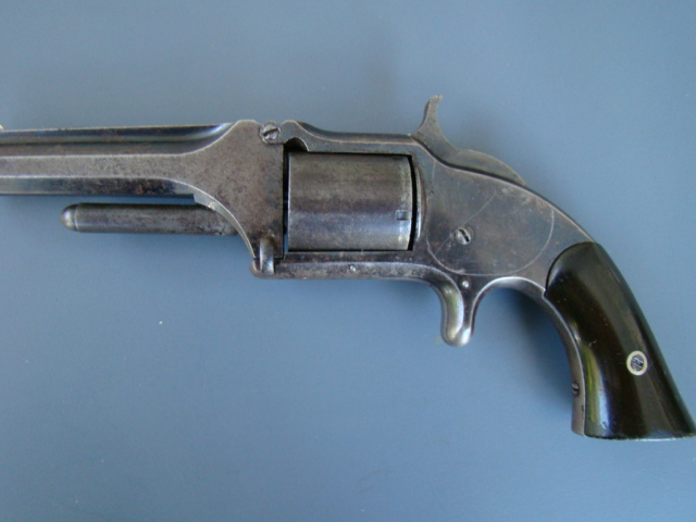 2093P S&W Model 1 ½, First Issue, 32rf cal., 1865 Patent Date.
