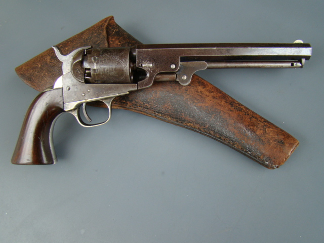 3023P Manhattan Fire Arms Co., Navy, 36 cal., 6 ½, Series III, 5 shot, 1863, Exc. Condition.