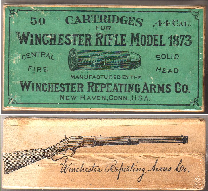 Antique Winchester 44-40 Ammunition sealed