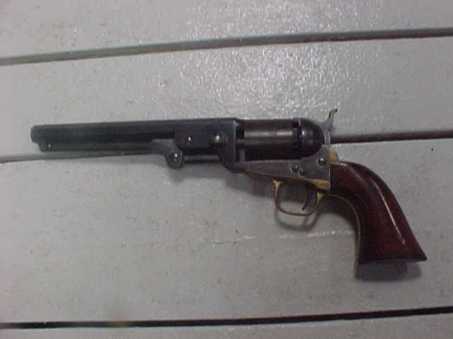 Fine Colt '51 Navy, Blue, Scene, Case, Great Bore, Pefect Action, Indexing