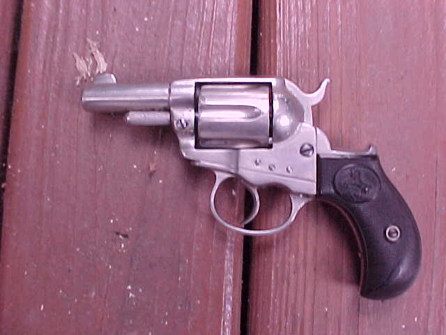 "Excellent Colt Lightning Storekeepers Model, 2 ""x.38 Cal., Nickel, Tight,Rare"