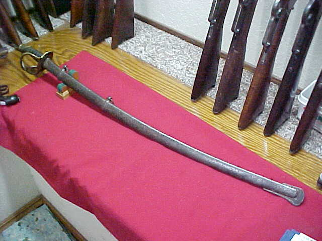 #0862 Model 1840 Heavy Dragoon sabre w/scabbard