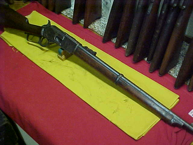 #0957 Winchester 1876 Carbine, 45/75WCF with very good bore