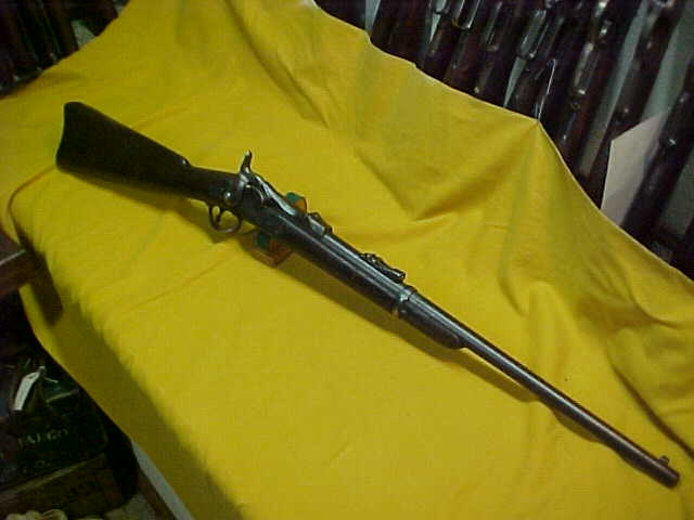 #1436 Springfield 1884 Trapdoor Carbine, 45/70 with very decent bore (7+ on a scale of 10), tight action,