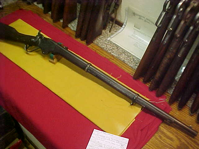 "#3633 Spencer New Model 1865 RIFLE, 30""x56/50RF with a decent bore"
