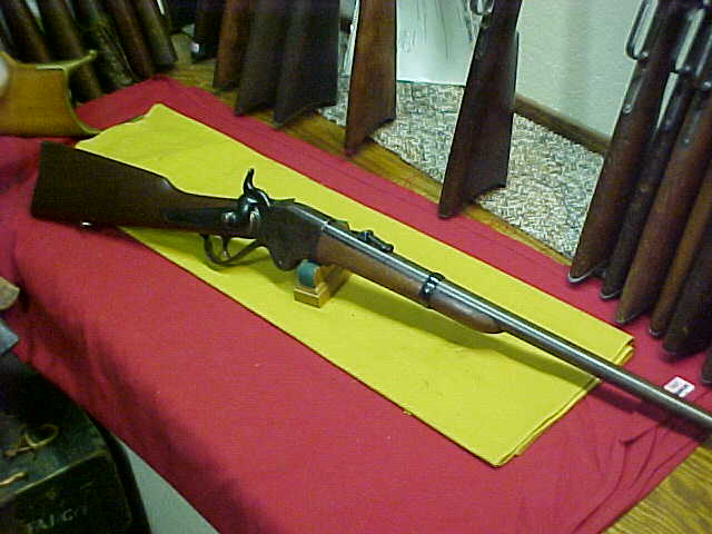 #3634 Spencer Repeating Arms Model 1860 saddle ring carbine, caliber No.56/56RF