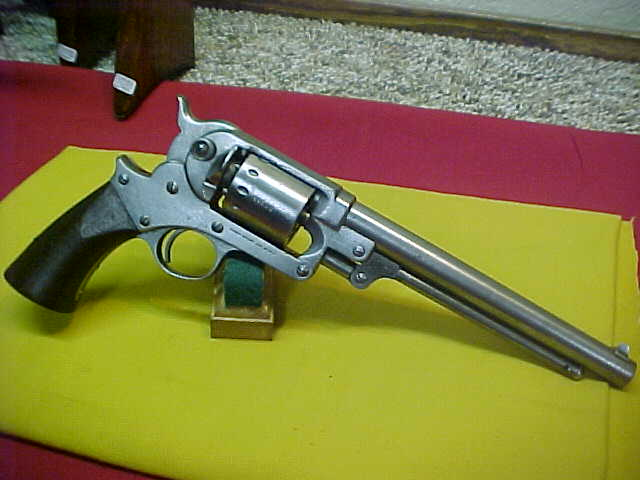 #3862 Starr Arms Model 1863 Army S/A revolver, 30XXX, 44caliber percussion with VG+ bore