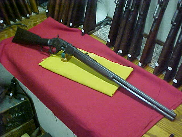 #3890 Winchester 1873 OBFMCB, 325XXX(early 1890), 38WCF