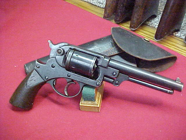#4242  Starr 1858 D/A Army 44-percussion revolver, early 1870s after-market conversion to 44WCF