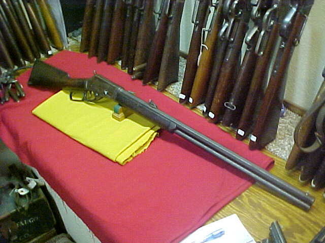 #4251 Marlin 1881 rifle, OBFMCBw/DSTs, 45/70 with VG++ bore