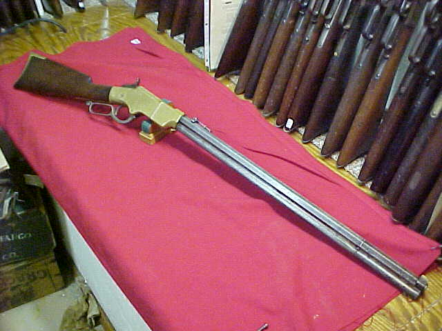 #4580 Henry Rifle, Model 1860, Second variation with pointed buttplate heel, 83XX serial range (c1864)