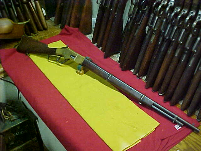 #4611 Winchester 1866 Musket, 44RF with Ex.Fine+ bore