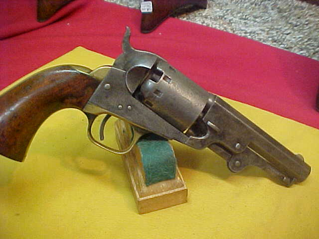 "#4669 Manhattan Belt-Navy Revolver, 4""x36caliber, VG (about a ""7"" on a scale of 10)"