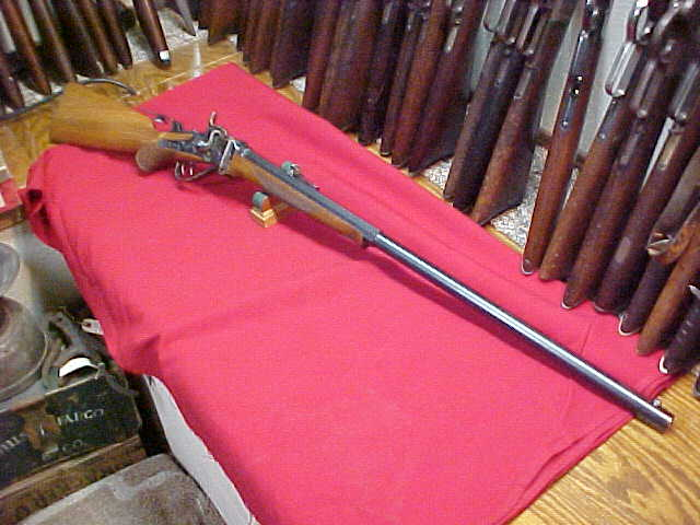 "#4689 Sharps 1874 ""Old Reliable"" semi-deluxe Sporting Rifle, 30"" half-octagon barrel,"