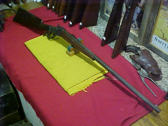 "#4759 Winchester 1885 ""Lo-Wall"" single shot with 26"" No.2 octagon barrel, 32/40 caliber with fine bore"