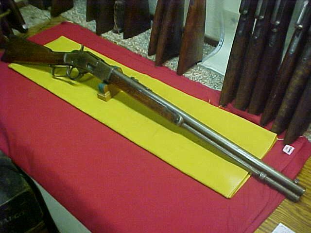 #4768 Winchester 1873 RBFMCB, fairly early Second Model,44WCF with G-VG bore