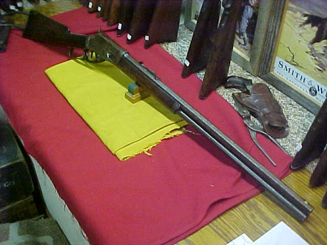 #4794 Marlin 1881 OBFMCB 45/70 with very desirable double set triggers, 14XXX serial range (1887), VG bore