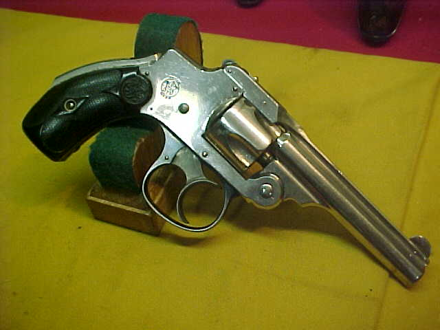 #4848 Smith & Wesson First Model 32S&W Double Action Hammerless Revolver