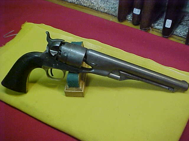 #4880 Colt 1860 Army revolver, 109XXX (1863) matching throughout