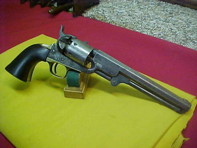 "#4902 Colt 1851 ""Navy"" revolver, 7-1/2""x36 percussion with G-VG bore;"