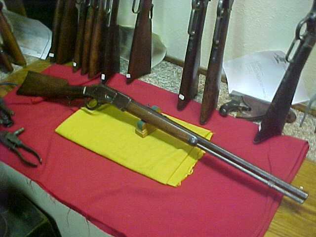 #4921 Winchester 1873 OBFMCB standard Sporting Rifle, 32WCF (32/20) with surprisingly good bore