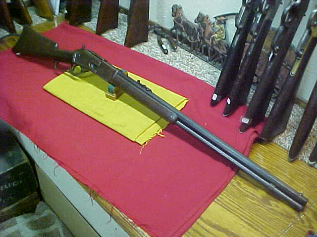 #4927 Winchester 1876 OBFMCB 2nd Model, 45/75WCF with Fine bore, mfg 1883