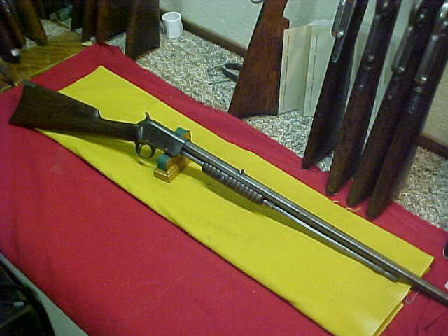 #4943 Winchester Model 1890 Slide-Action 22RF Short, scarce and VERY desirable 1st Model