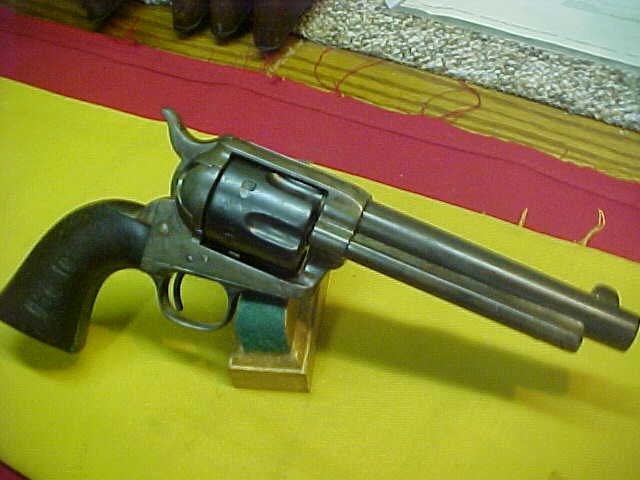 "#4962 Colt S/A, 5-1/2""x45COLT, ""U.S."" Artillery model with mixed serial numbers, as is correct"