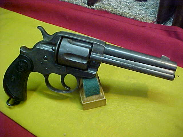 "#4998 Colt 1878 D/A 4-3/4""x44WCF, manufactured in the 36XXX serial range (1897)"