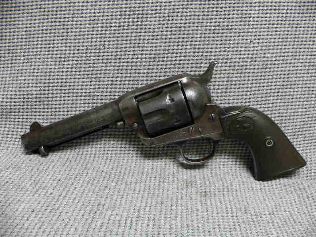 #344 Colt Single Action Army Revolver .41 Colt Texas Shipped
