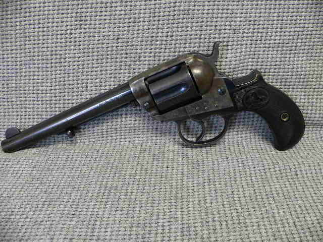 "#348 Colt 1877 Double Action 6"" Barrel 41 Cal. MFG (1902)"