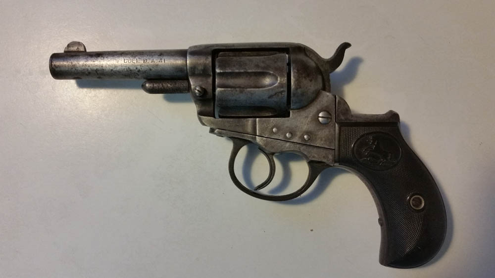 Colt Double Action Army Revolver-Lightning Model 1877, 41/c