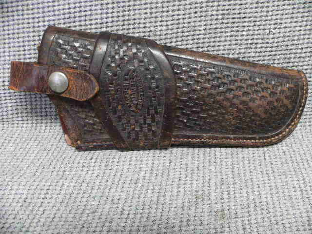 #M491 Brill Holster for Colt SAA Austin Texas